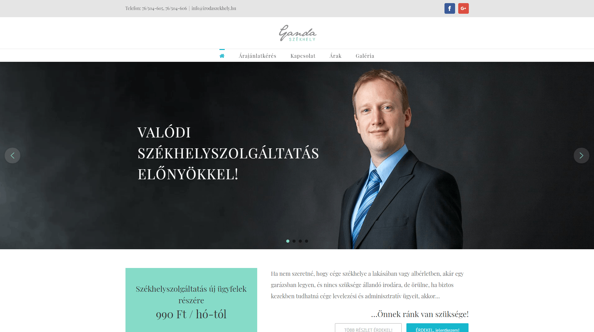WordPress weboldal webáruház