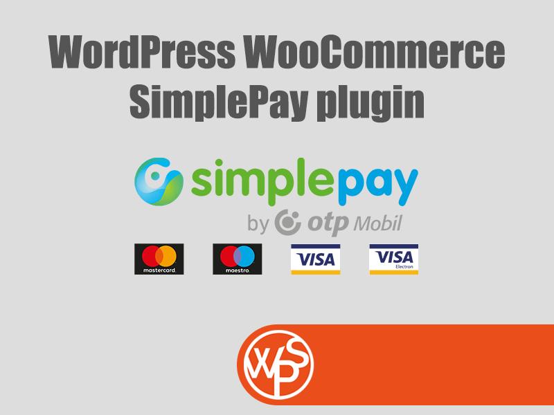 WordPress WooCommerce SimplePay bővítmény
